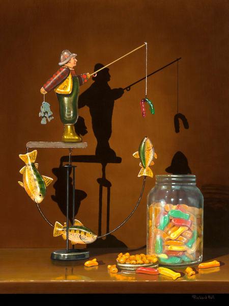 Something Fishy Art | Richard Hall Fine Art
