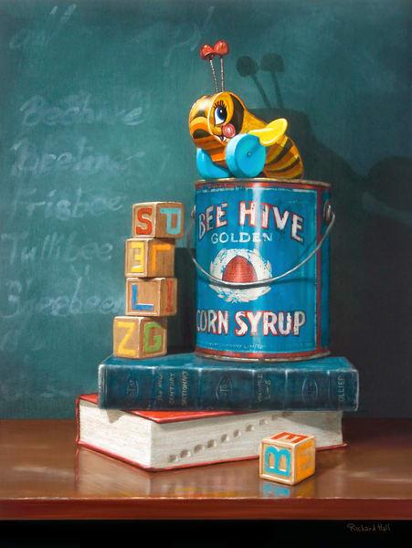 Spelling Bee Art   Richard Hall Fine Art
