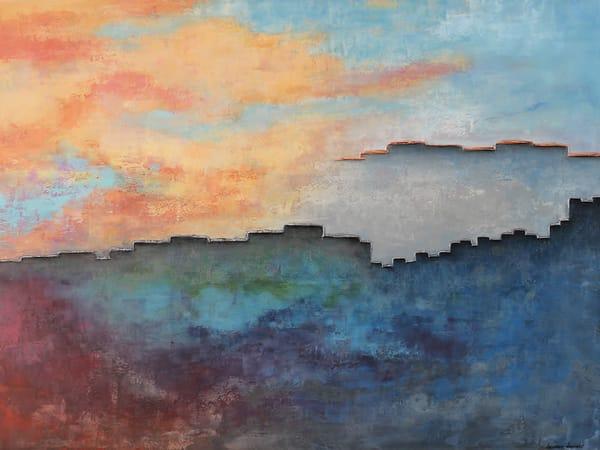 Reminiscing As The Future Unfolds Art | Heather Haymart Fine Art