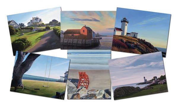 Cape Ann Assorted Blank Notecards | The Art of David Arsenault