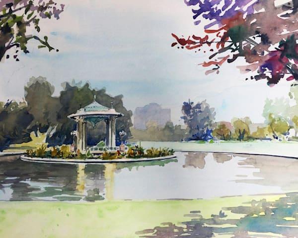 Stl Forest Park   Limited Edition Signed Print   16x12 Art   Steven Dragan Fine Art