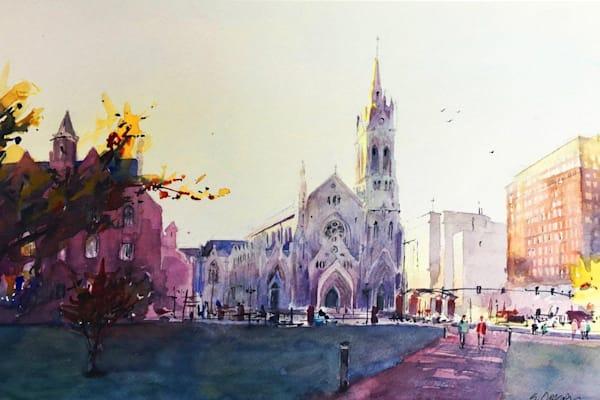 Stl Slu Cathedral   Limited Edition Signed Print   16x12 Art   Steven Dragan Fine Art