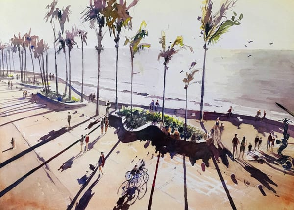 Pv Malecon 1   Limited Edition Signed Print   16x12 Art   Steven Dragan Fine Art