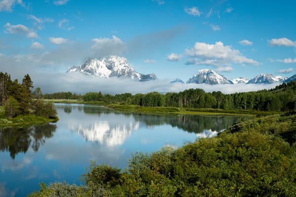 Grand Teton Reflection print | Jim Parkin Fine Art Photography