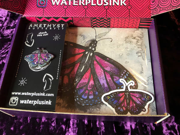 Enamel Pin Subscription | Water+Ink Studios