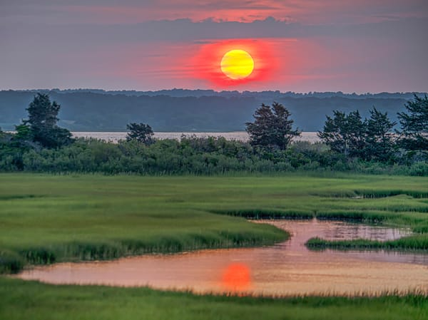 Sengekontacket Sun Reflection Art | Michael Blanchard Inspirational Photography - Crossroads Gallery