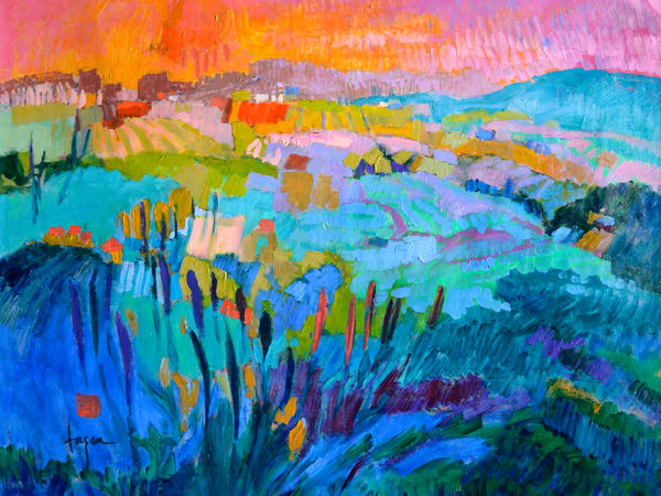 The Pond Within  (Oversize) Art | Dorothy Fagan Joy's Garden