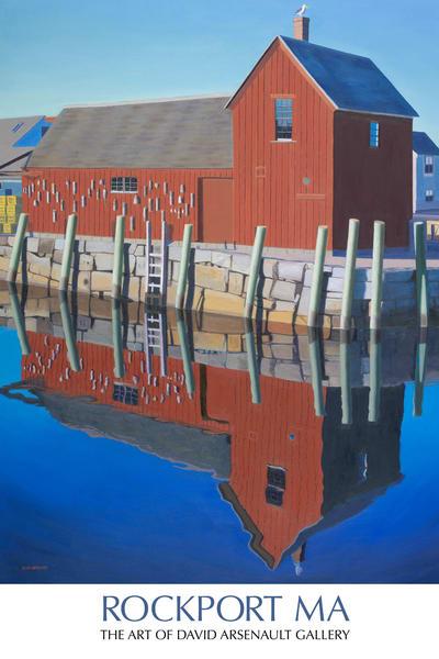 Rockport Motif No. 1 Poster | The Art of David Arsenault