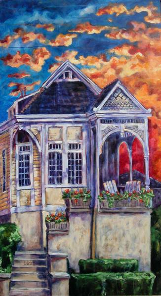 House On Danneel Art | Joan Cox Art