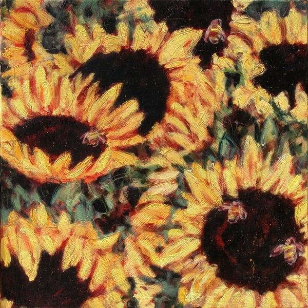 Summer Sunflowers Ii 300 Art   Joan Cox Art