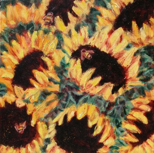 Summer Sunflowers I 300 Art   Joan Cox Art