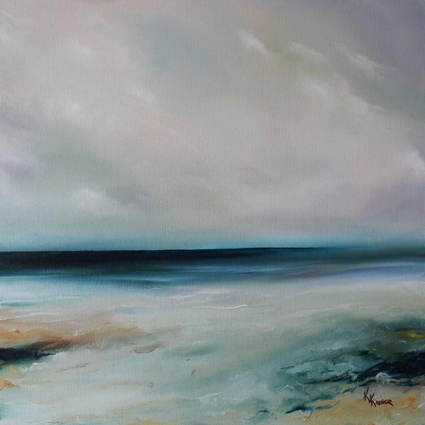 Stillness by Coastal Artist Kristine Kainer