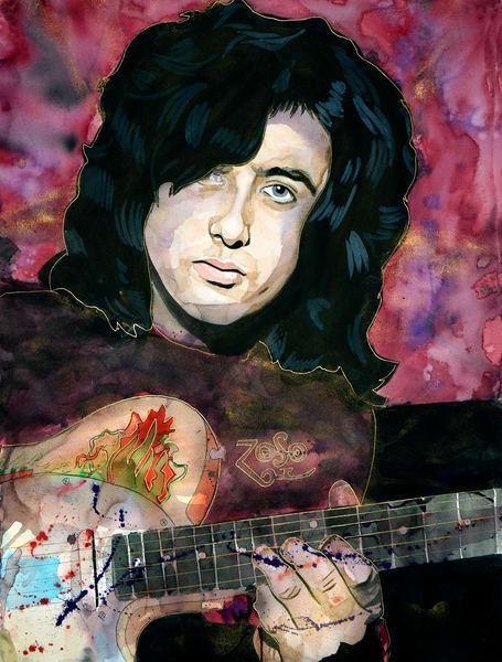 Jimmy Page * Lf Art | William K. Stidham - heART Art