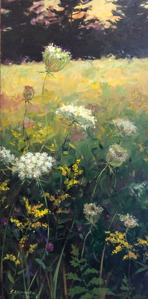 Queen Anne's Lace And Goldenrod Art | Full Fathom Five Gallery