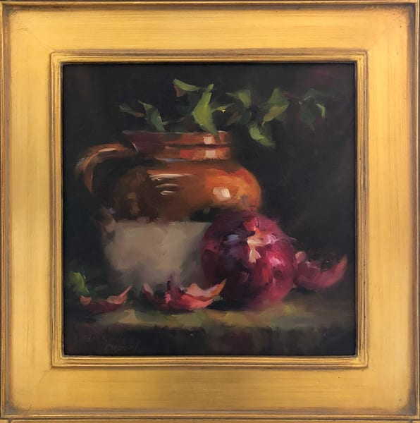 Bean Pot And Purple Onion Art | Full Fathom Five Gallery
