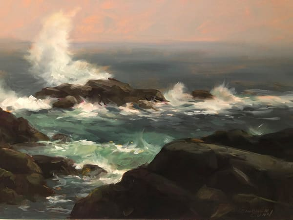 Surf And Rocks Art | Full Fathom Five Gallery