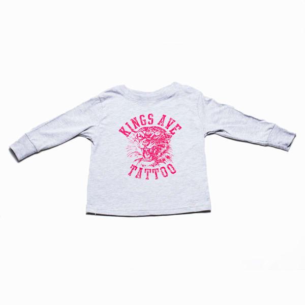Kids Ka Tiger Long Sleeve Pink | Kings Avenue Tattoo