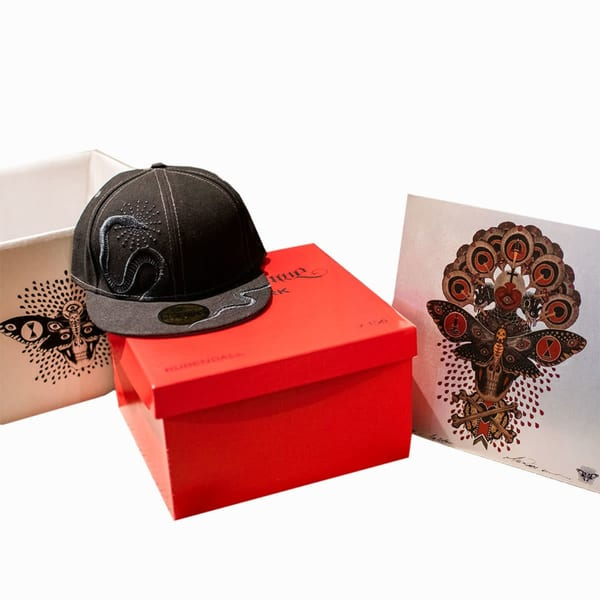 Limited Edition New Era 59 Fifty X Mike Rubendall | Kings Avenue Tattoo
