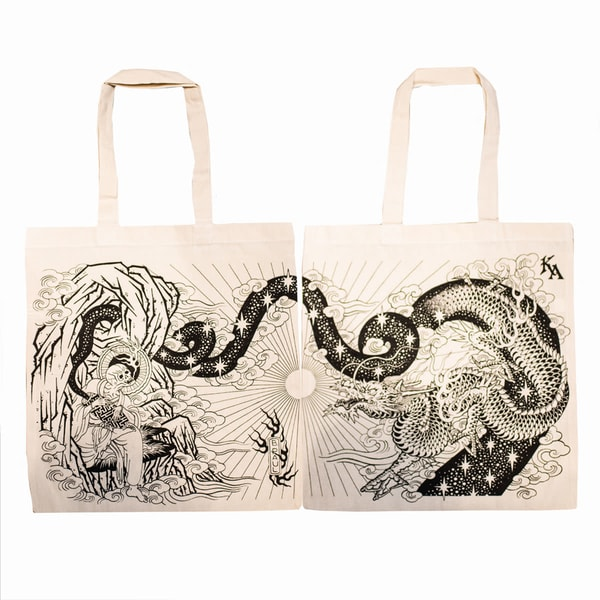 Brian Paul Double Sided Tote Limited Edition | Kings Avenue Tattoo