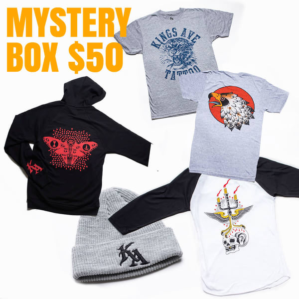 Mystery Box $50 | Kings Avenue Tattoo