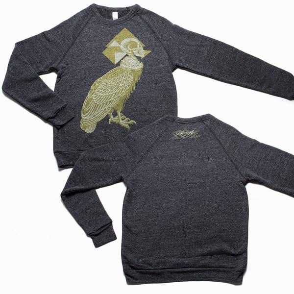 Silent Flight Sweatshirt: Green | Kings Avenue Tattoo