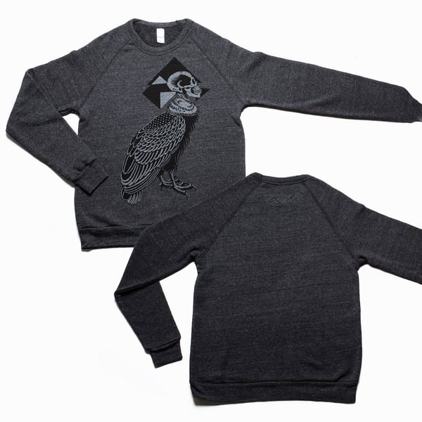 Silent Flight Sweatshirt: Black | Kings Avenue Tattoo