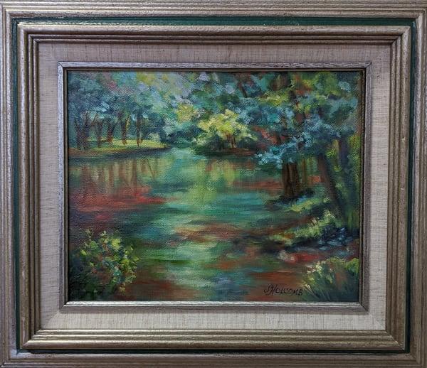 Sandy Holcomb - original artwork - landscape - Toccoa River