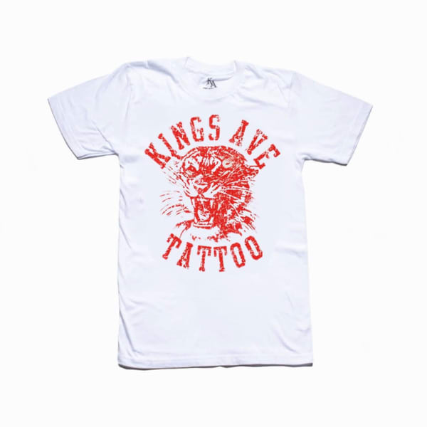 Ka Tiger Tee Red | Kings Avenue Tattoo