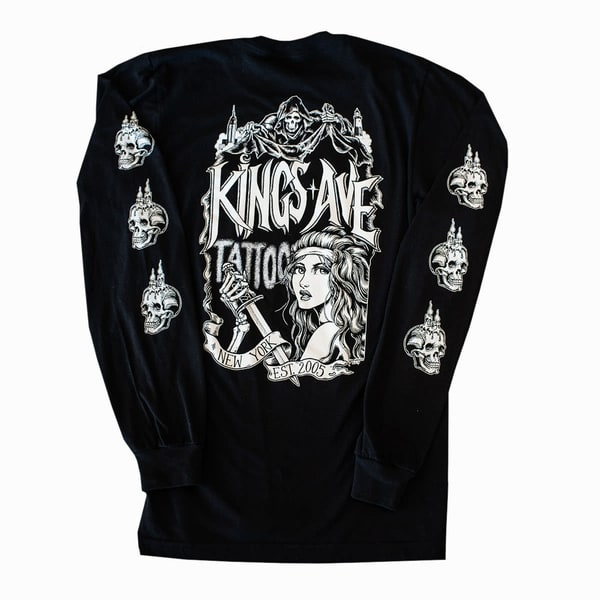 New York Horror Story (Black) | Kings Avenue Tattoo