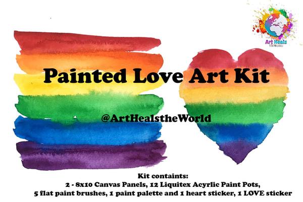 Painted Love Art Kit | Rosanne Nitti Fine Arts