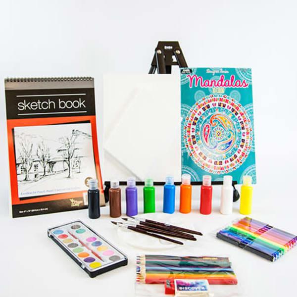 60 Piece Deluxe Art Kit | Rosanne Nitti Fine Arts