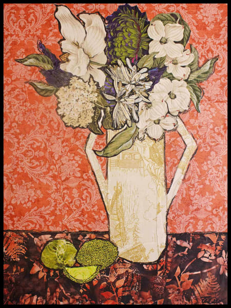 Tesser, Fine Art In Fabric, Textile Mosaic,