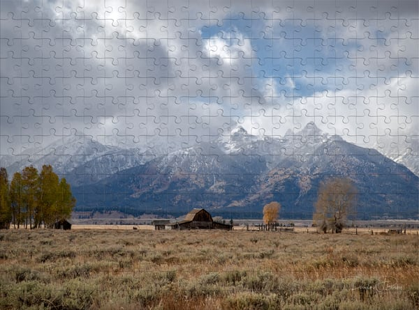 Moulton Barn In The Tetons | dougbusby