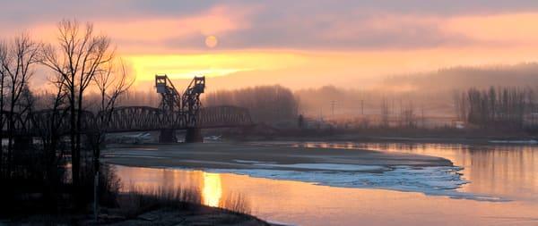 Morning on the Fraser River   Terrill Bodner Photographic Art