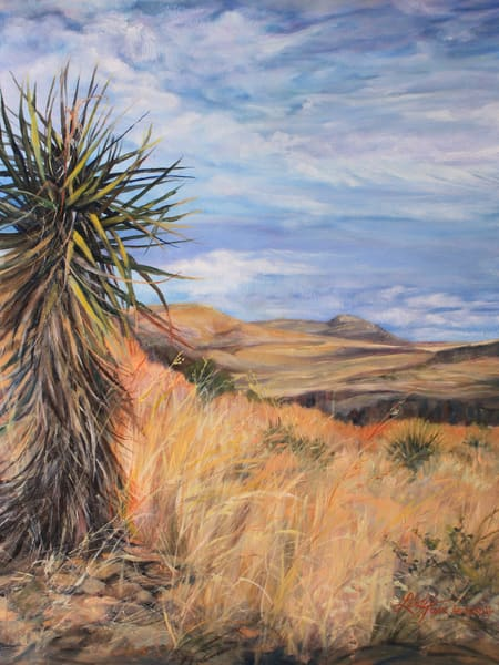 Lindy Cook Severns Art | Watching Over West Texas, print