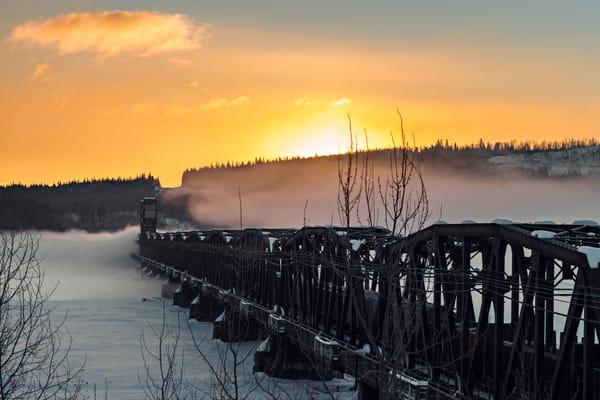 CN Train Bridge No 12   Terrill Bodner Photographic Art