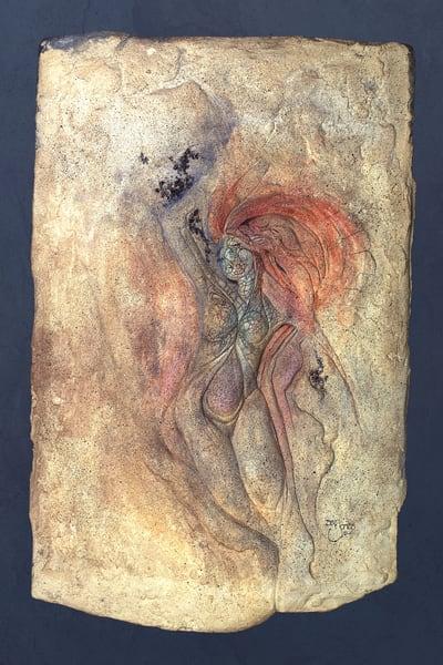 Fire She  Art | Dan Jones art