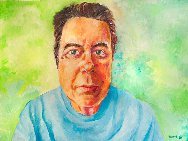 Self Portrait Of The Artist As A Middle Aged Man Art | RPAC Gallery