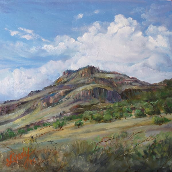 Lindy Cook Severns Art | A Green Interlude in West Texas, print