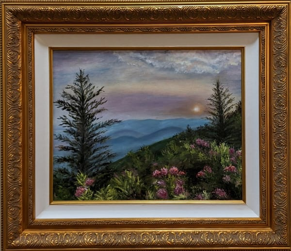 Sheila Sell - original artwork - Blue Ridge Parkway - Peace in the Valley