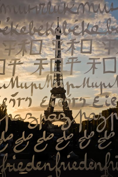 Eiffel Tower Peace