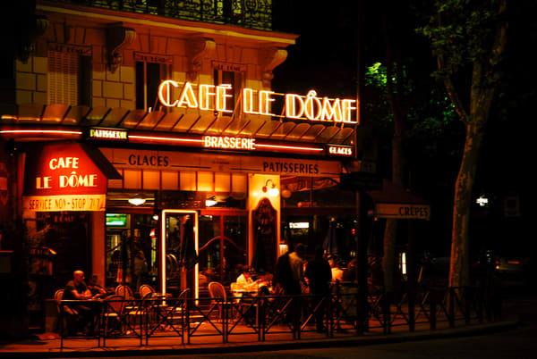 Cafe Le Dome Photography Art | Cardinal ArtWorks LLC