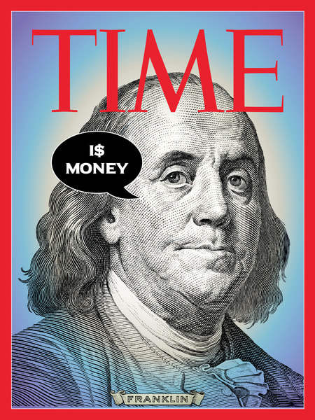 Time Is Money Art | Awake Graphics, LLC