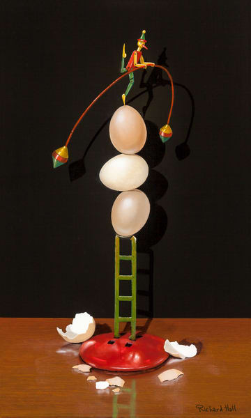 Walking On Eggshells Art | Richard Hall Fine Art