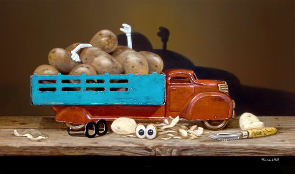 The Chips Are Down Art | Richard Hall Fine Art