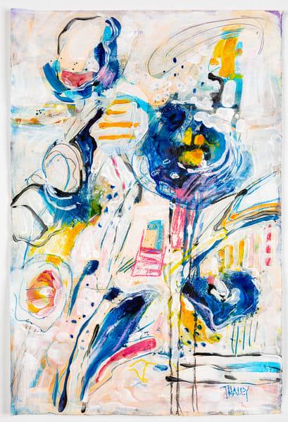 Blue Poppies Original Art | Terrie Haley Artist