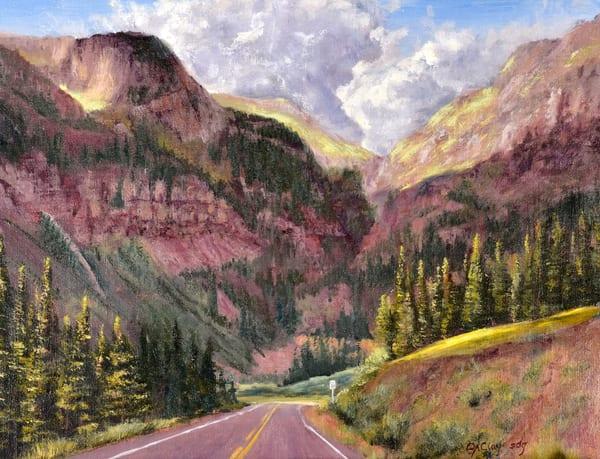 Million Dollar Highway Art | Art By Debbie Clay