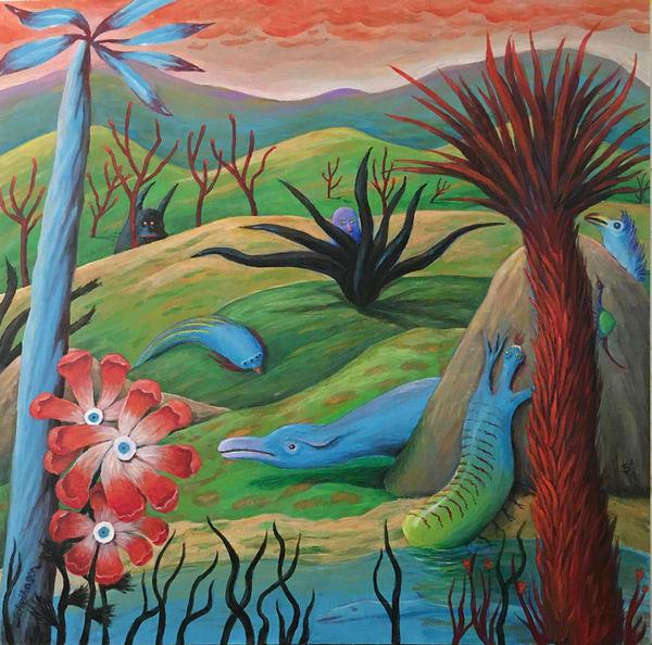 River Run Art | Scheihagen Art