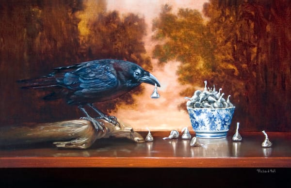Stealing Kisses Art | Richard Hall Fine Art