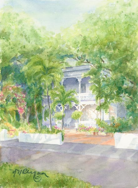 Key West House Art | Nancy Reyna Fine Art